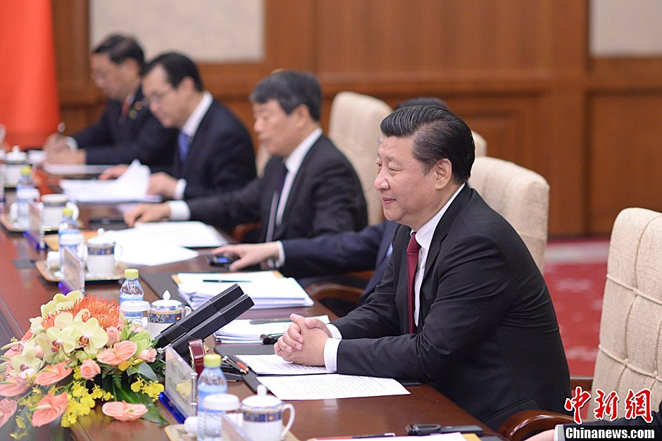 Xi Jinping said the government will resolutely contain