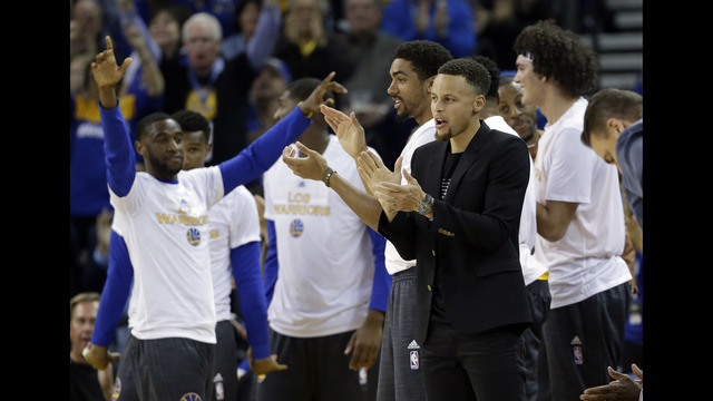 Golden State Warriors Beat Oklahoma City Thunder for 44th Consecutive Home Win