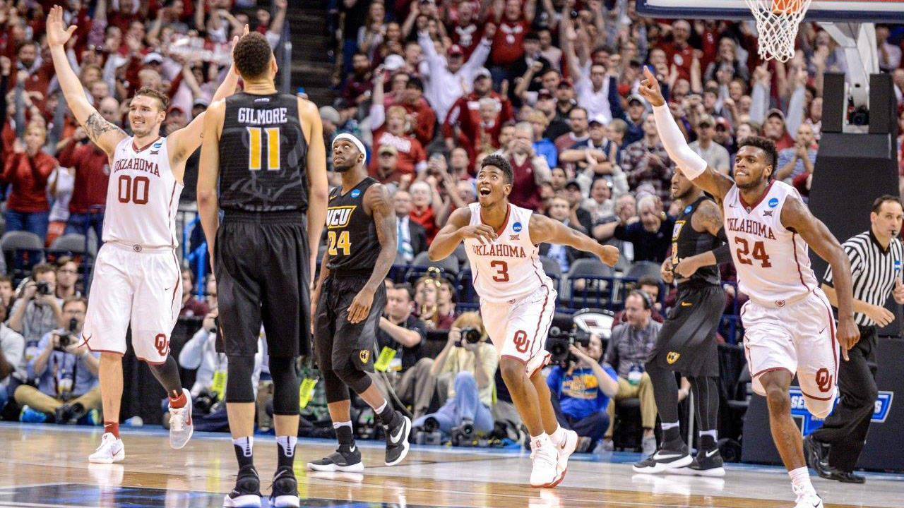 Hield's 36 points lead Oklahoma past VCU 85-81