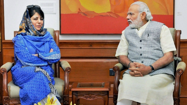 Why did Mehbooba agree without 'getting anything from Centre', asks Omar