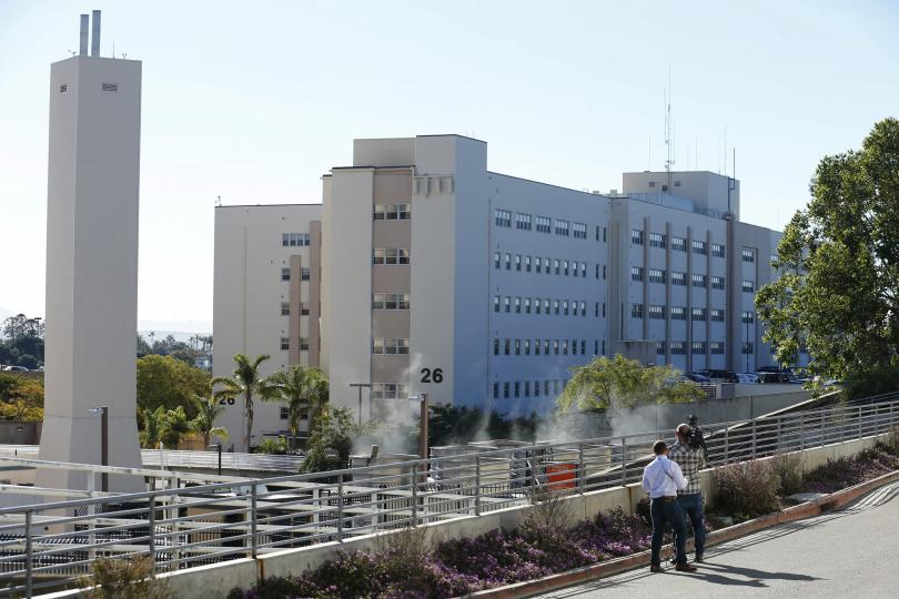 Reports of man with gun at Naval Medical Center in San Diego