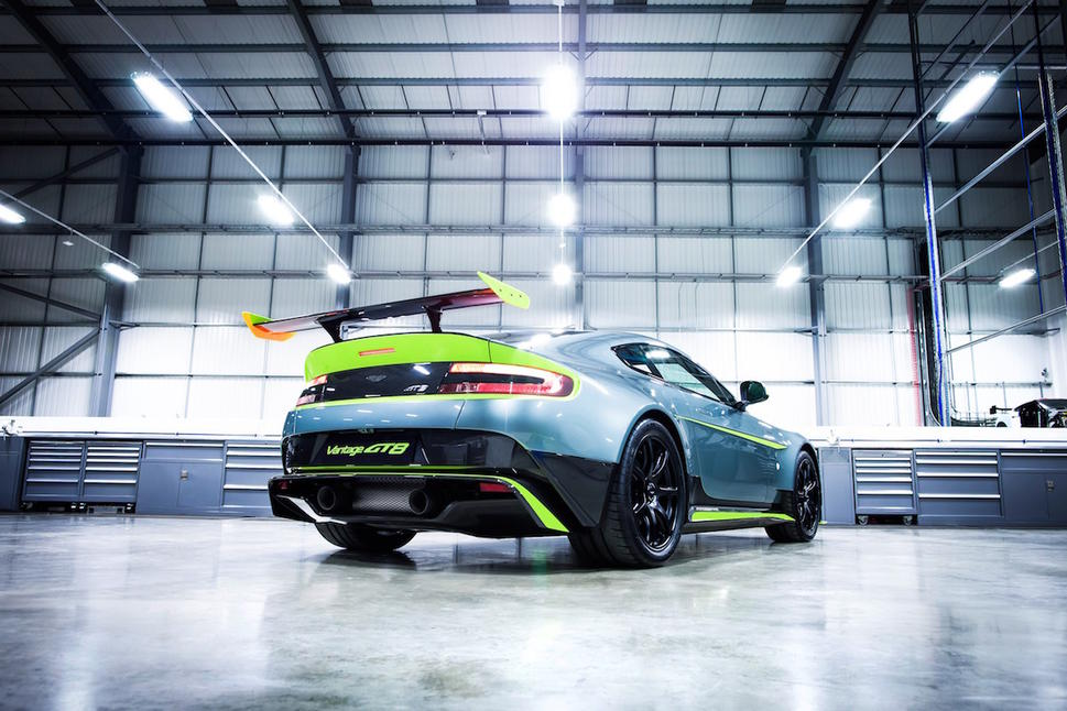Aston Martin Vantage GT8: Hardcore V8 track car launched