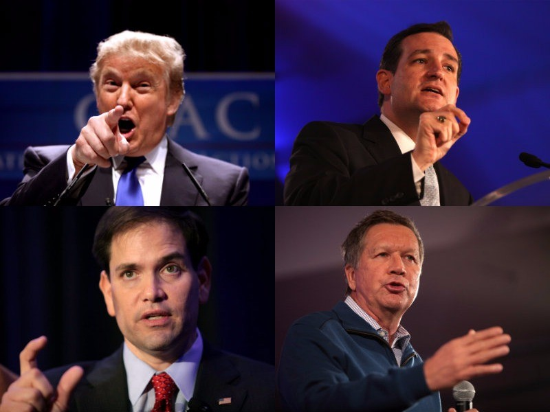 The most memorable insults, one-liners from GOP debate